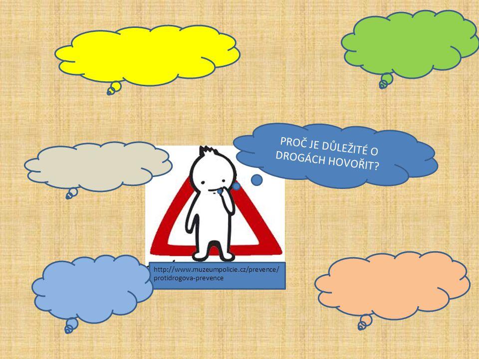 http://www.muzeumpolicie.cz/prevence/ protidrogova-prevence PROČ JE DŮLEŽITÉ O DROGÁCH HOVOŘIT