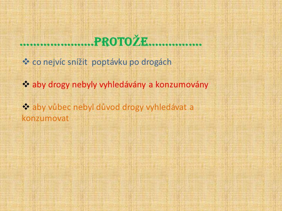 www.rekninedrogam.czwww.drogy.cz Kde získáš více informací??.