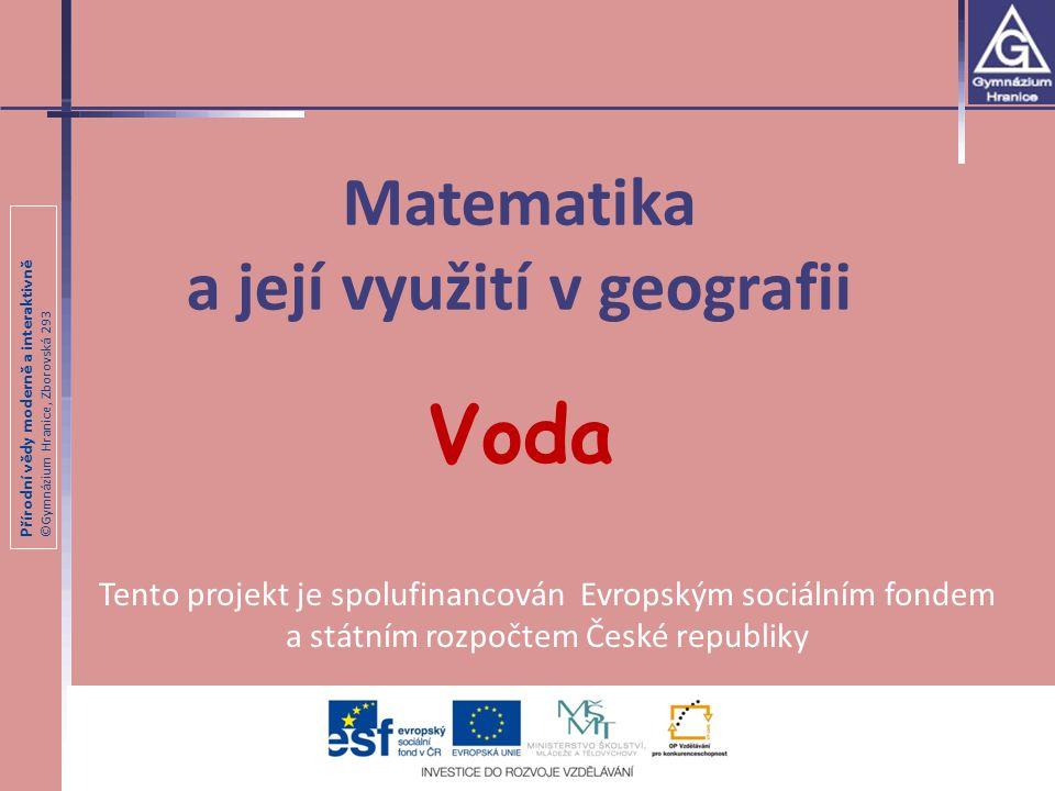 Přírodní vědy moderně a interaktivně ©Gymnázium Hranice, Zborovská 293 Režim odtoku Co rozumíte pojmem režim odtoku.
