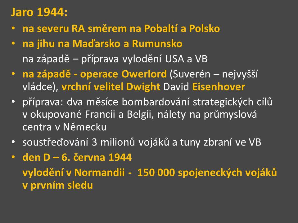 """Němci očekávali vylodění spíše u Calais – nejužší místo Erwin Rommel (""""pouštní lišák ) odhadl místo vylodění správně na jeho rozkaz bylo položeno obrovské množství min, ježků (svařené ocelové traverzy zapuštěné do země), kůlů namířených do vzduchu s cílem znemožnit přistání spojeneckých kluzáků s výsadkáři a materiálem, práce však pokračovaly pomalu"""