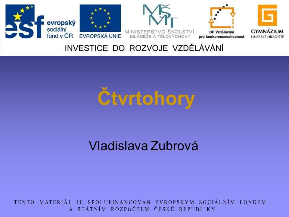 Čtvrtohory Vladislava Zubrová
