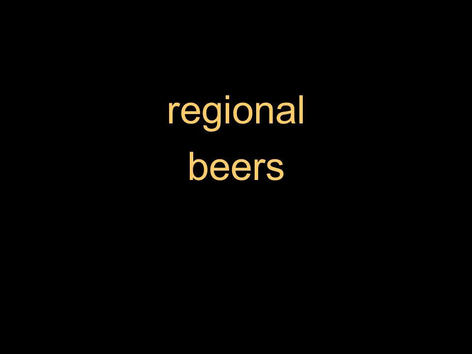 regional beers