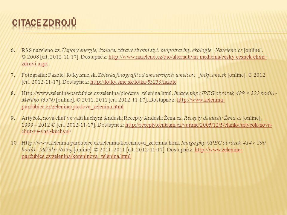 6.RSS nazeleno.cz.