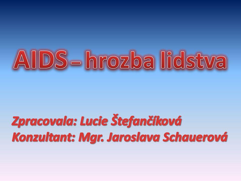 Osnova Charakteristika AIDS Charakteristika AIDS Historie Historie Význam slova AIDS Význam slova AIDS Charakteristika HIV Charakteristika HIV Průběh nemoci Průběh nemoci Léčba Léčba AIDS ve světě AIDS ve světě Organizace Organizace