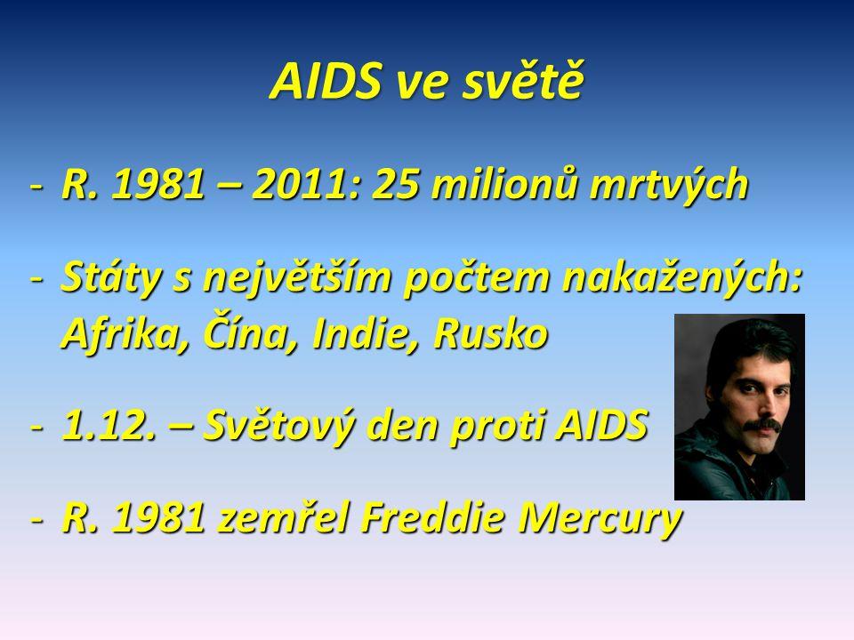 AIDS ve světě -R.