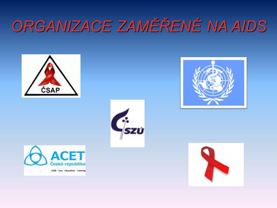ORGANIZACE ZAMĚŘENÉ NA AIDS