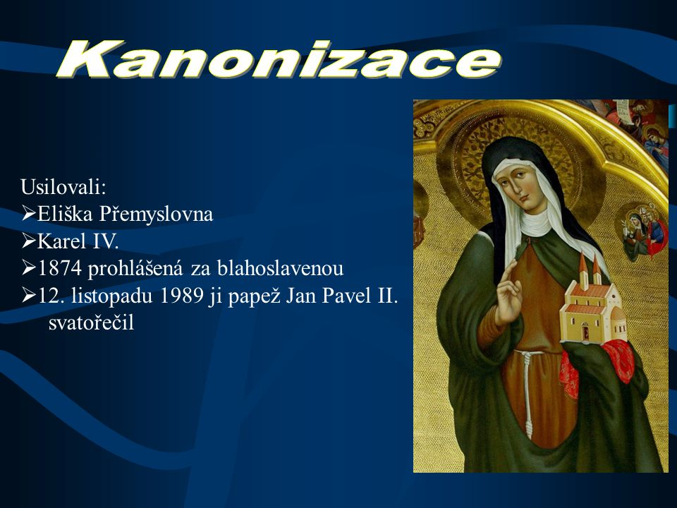 praha.eu  Anežka byla pohřbena v klášterním chrámu Na Františku  její ostatky byly později přemístěny neznámo kam prý v pražském kostele sv.