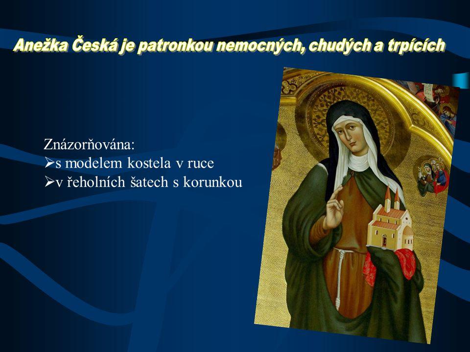 Usilovali:  Eliška Přemyslovna  Karel IV.  1874 prohlášená za blahoslavenou  12. listopadu 1989 ji papež Jan Pavel II. svatořečil