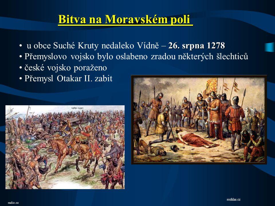 Uchazeč o korunu Svaté říše římské dvakrát neúspěšně – 1255, 1273 (pro papeže a německá knížata byl moc mocný) Rudolf I. Habsburský říšským králem zvo