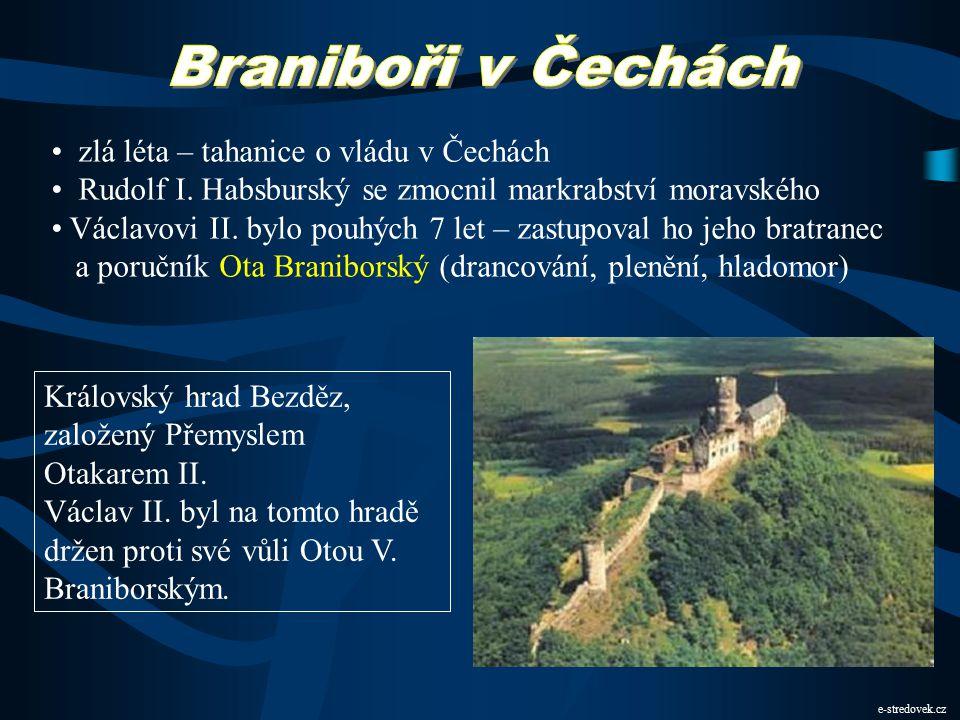 Bitva na Moravském poli 26. srpna 1278 u obce Suché Kruty nedaleko Vídně – 26. srpna 1278 Přemyslovo vojsko bylo oslabeno zradou některých šlechticů č