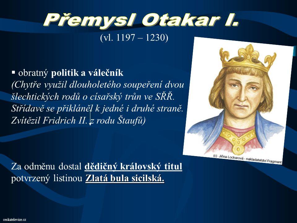 ao-institut.cz Smír Přemysla Otakara I. s bratrem Vladislavem III. 6. 12. 1197. Mladší bratr, ač měl vojsko silnější, z lásky k bratru a vlasti postou