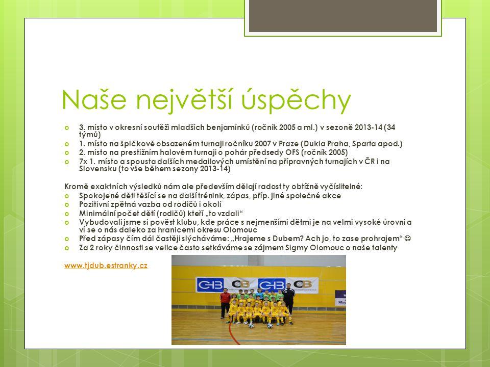 Tak jsme začínali… www.tjdub.estranky.cz www.tjdub.estranky.cz 1.trénink Úplně první zápas 27.6.2012