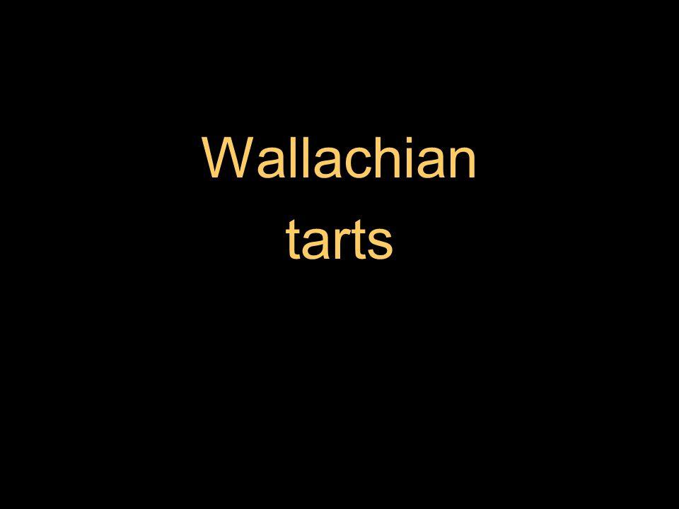 Wallachian tarts