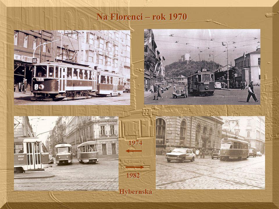 Náměstí Republiky Prašná Brána Obecní dům Dne 1.1.1960 byl zastaven tramvajový provoz na trati Prašná brána – Staroměst. náměstí – Právnická fakulta