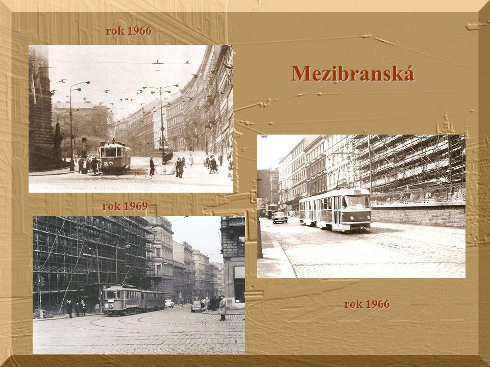 Praha 4 Na Veselí – rok 1965 Ryšánka 1967 Ryšánka 1968