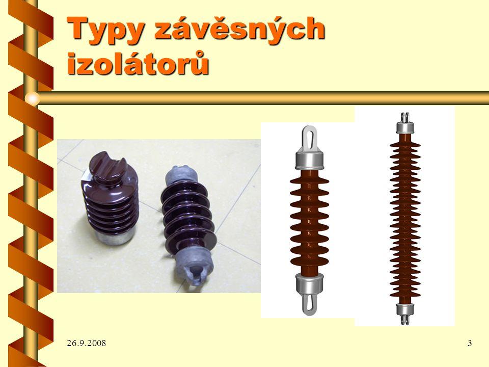 26.9.20083 Typy závěsných izolátorů
