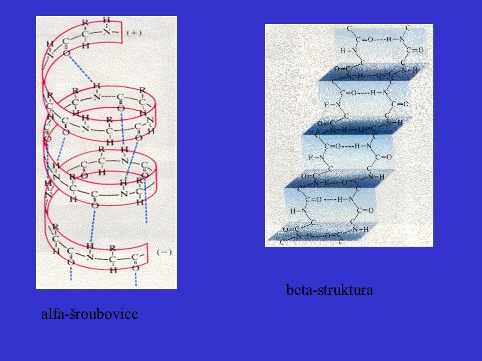 alfa-šroubovice beta-struktura