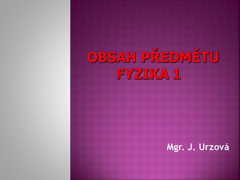 Mgr. J. Urzová