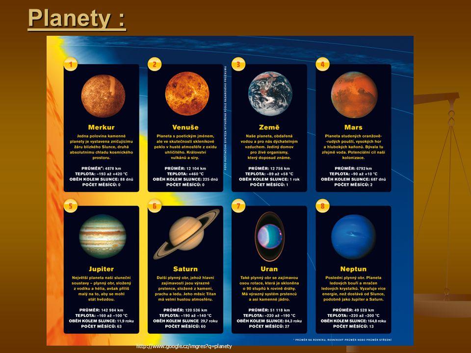 Planety : http://www.google.cz/imgres?q=planety