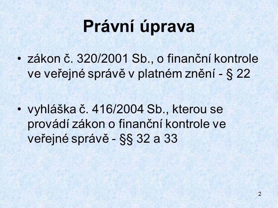 2 Právní úprava zákon č.