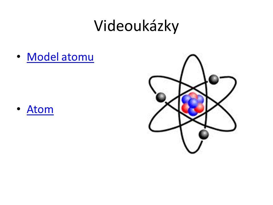 Videoukázky Model atomu Atom