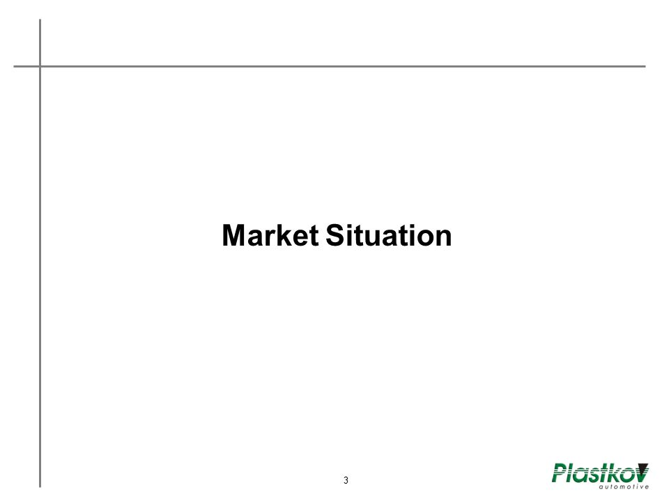 Market Situation 3