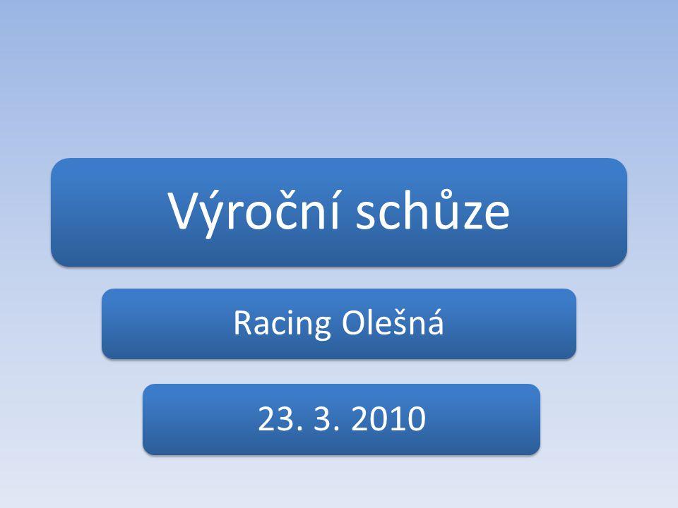 Výroční schůze Racing Olešná23. 3. 2010