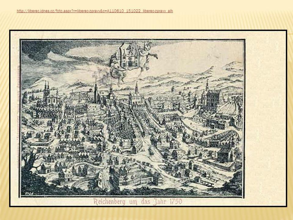 Do 18.stol. spadá počátek rozvoje libereckého textilního průmyslu.
