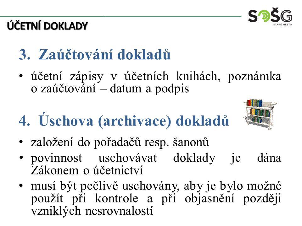 ÚČETNÍ DOKLADY 3.