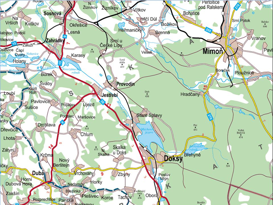 Jestřebské slatiny Soustava slatinišť a mokrých luk (Molinion, Caricion davallianae,..) v údolí Mlýnského (Robečského) potoka Nejde o přesně vymezené