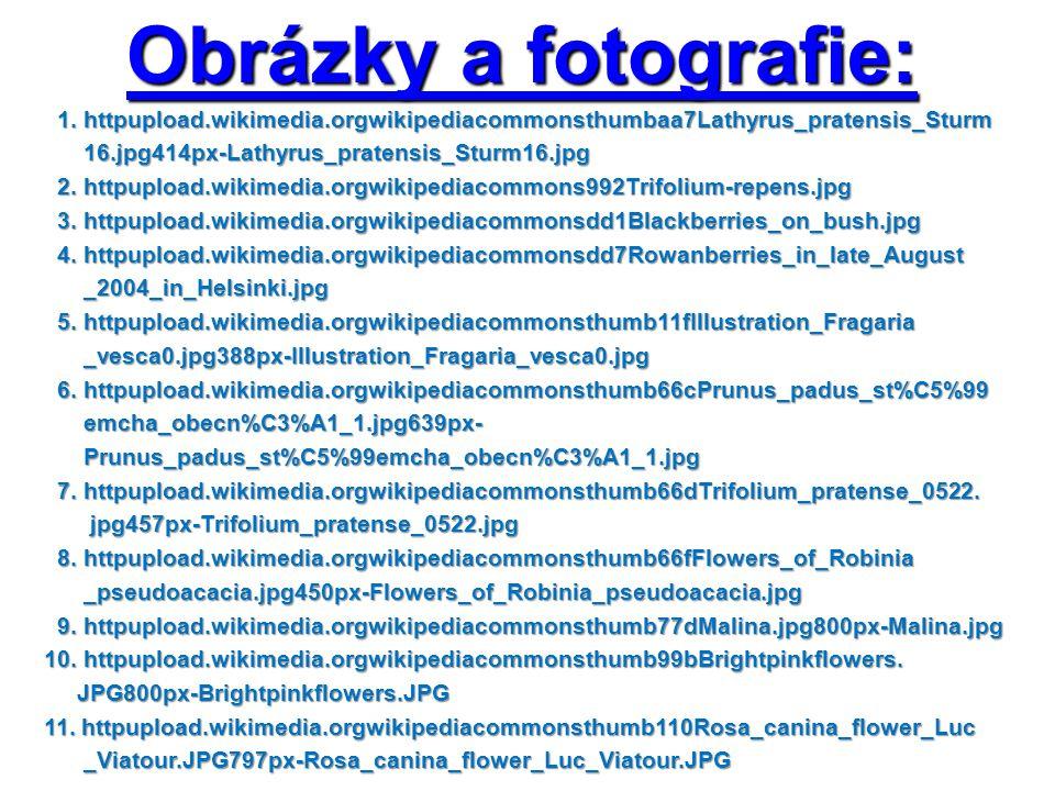 Obrázky a fotografie: 1. httpupload.wikimedia.orgwikipediacommonsthumbaa7Lathyrus_pratensis_Sturm 1. httpupload.wikimedia.orgwikipediacommonsthumbaa7L