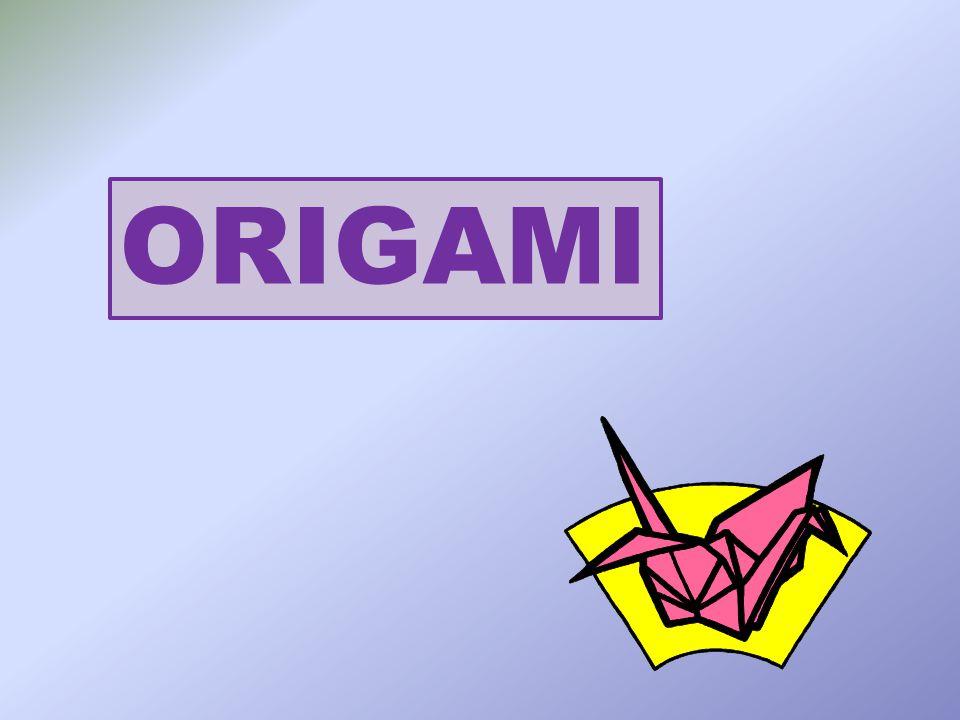 Origami je staré japonské umění skládání z papíru jeho počátky spadají do 9.