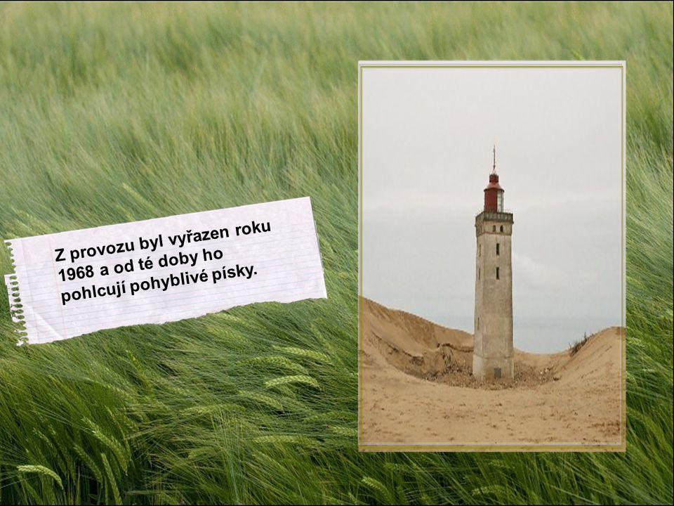 Z provozu byl vyřazen roku 1968 a od té doby ho pohlcují pohyblivé písky.