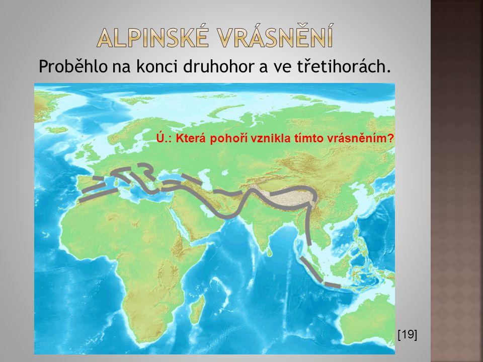 Proběhlo v mladších prvohorách před 350 milióny let. [18]