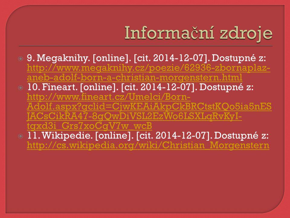  9. Megaknihy. [online]. [cit. 2014-12-07].