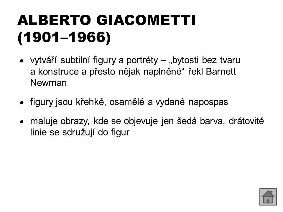 ALBERTO GIACOMETTI (1901–1966) http://commons.wikimedia.org/wiki/File:Giovanni_Giacometti_Stilleben_mit_Plastik.jpg