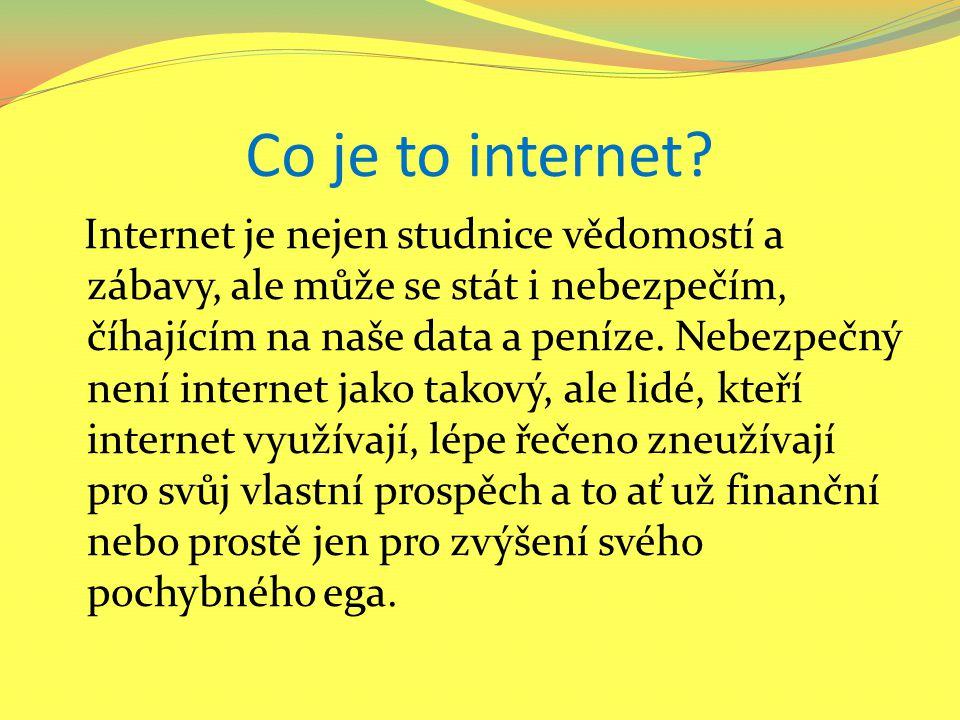 Negativa Internetu pro nejmladší generaci Kybersvět má své stinné stránky, které mohou negativně zasáhnout do dětského světa.
