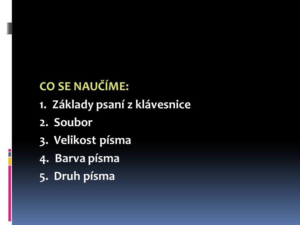 TEXTOVÝ EDITOR WORD ZŠ s rozšířenou výukou výtvarné výchovy Teplice, Koperníkova 2592 Mgr.