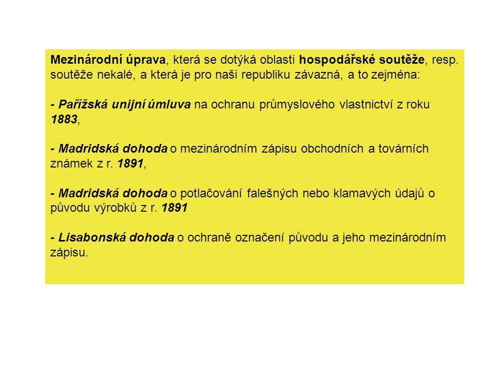 Zlehčování - § 50 obch.zák.