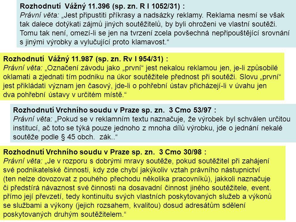 Klamavé označení zboží a služeb - § 46 obch.zák. odst.