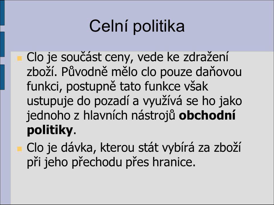 Celní území a celní pohraniční pásmo Rozumí se jím část území ČR, v němž se zboží považuje z hlediska cla za nedovezené a tak nepodléhá obvyklé celní kontrole