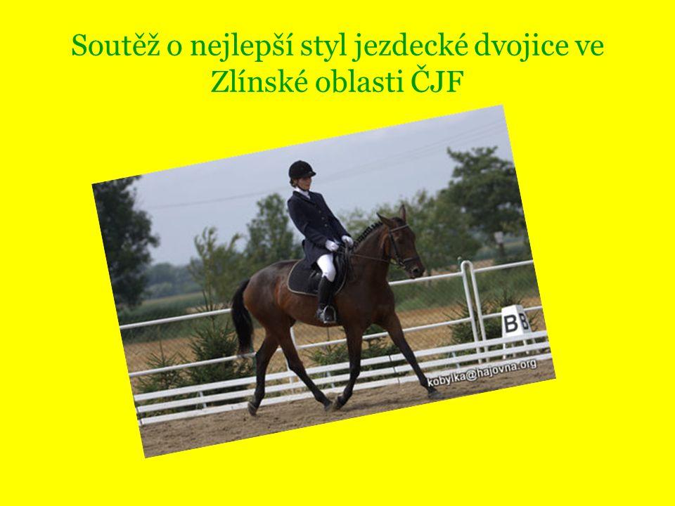 Soutěž o nejlepší styl jezdecké dvojice ve Zlínské oblasti ČJF