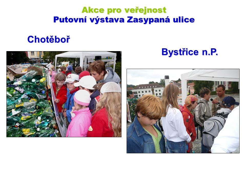 Chotěboř Akce pro veřejnost Putovní výstava Zasypaná ulice Bystřice n.P.
