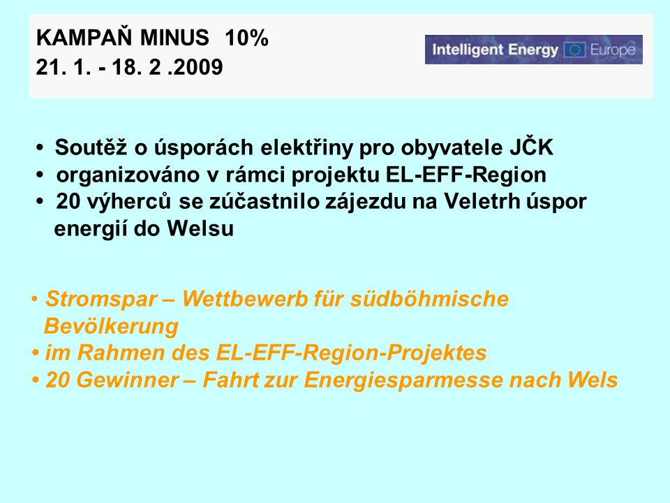 VELETRH ÚSPOR ENERGIÍ 2009/ ENERGIESPARMESSE 2009 27.