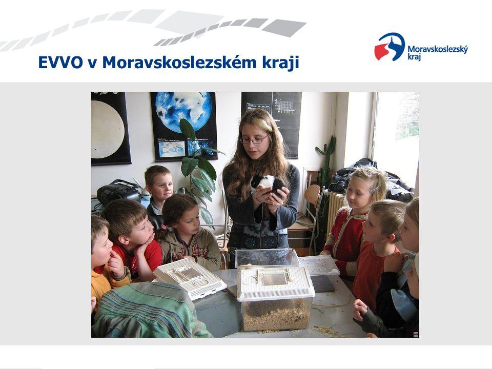 """EVVO v Moravskoslezském kraji """"Spaces for learnig - """"Místa k učení ,tedy český překlad názvu projektu, odpovídá specifickému cíli projektu, kterým je zmapování vhodných míst pro učení EVVO, a to jak ve školách, tak přímo v přírodě."""