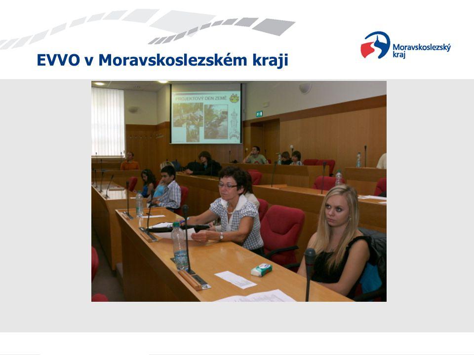 """Soutěž """"Ekologická škola v Moravskoslezském kraji V říjnu 2010 byla radou kraje vyhodnocena celokrajská soutěž Ekologická škola, do níž se zapojilo 71 škol, z nichž bylo oceněno patnáct v kategoriích mateřská, základní a střední škola."""