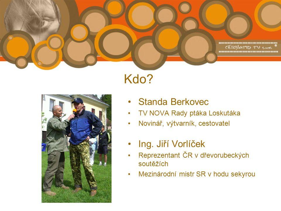 Kdo. Standa Berkovec TV NOVA Rady ptáka Loskutáka Novinář, výtvarník, cestovatel Ing.