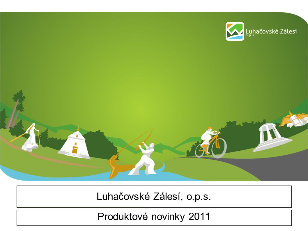 Luhačovské Zálesí, o.p.s. Produktové novinky 2011