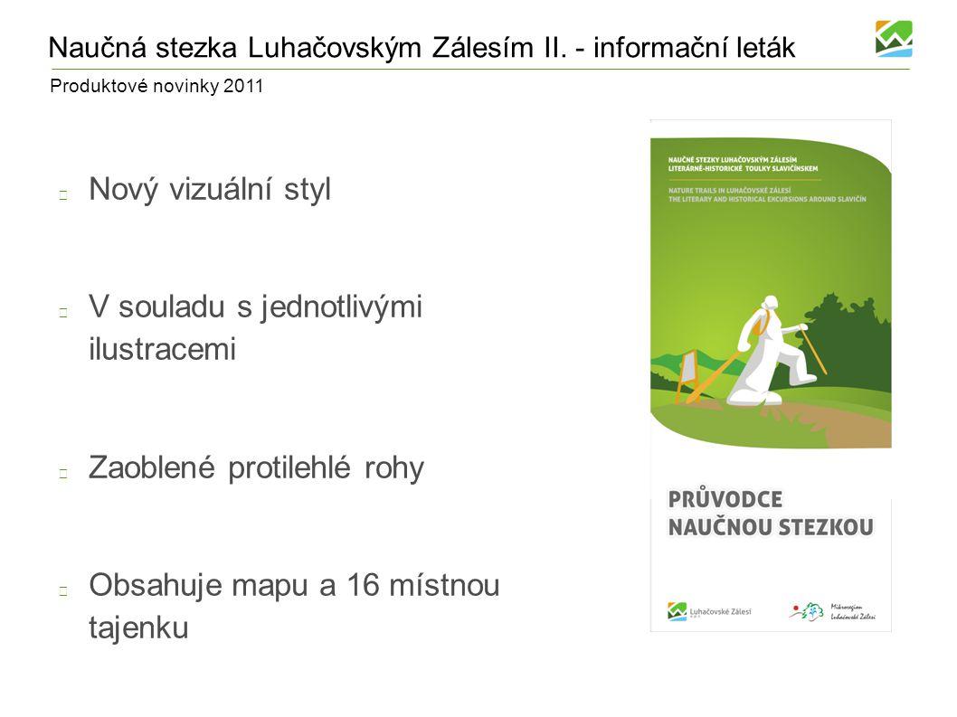 Produktové novinky 2011 Komonecké stezky