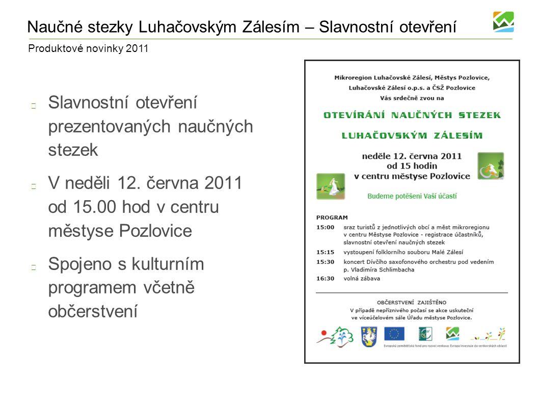 Produktové novinky 2011 Těšíme se na další spolupráci!